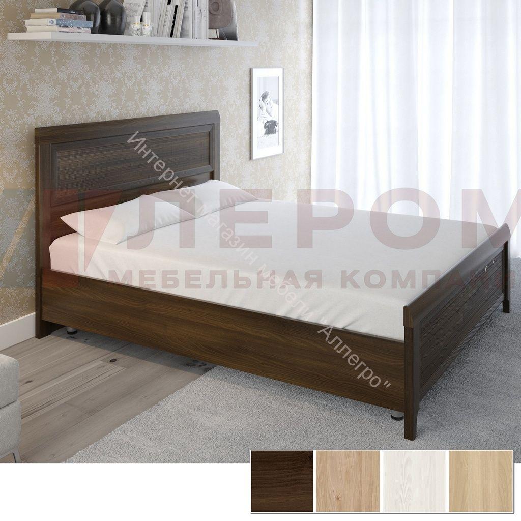 Кровать КР-2023 (1,6*2,0) Карина с жестким изголовьем