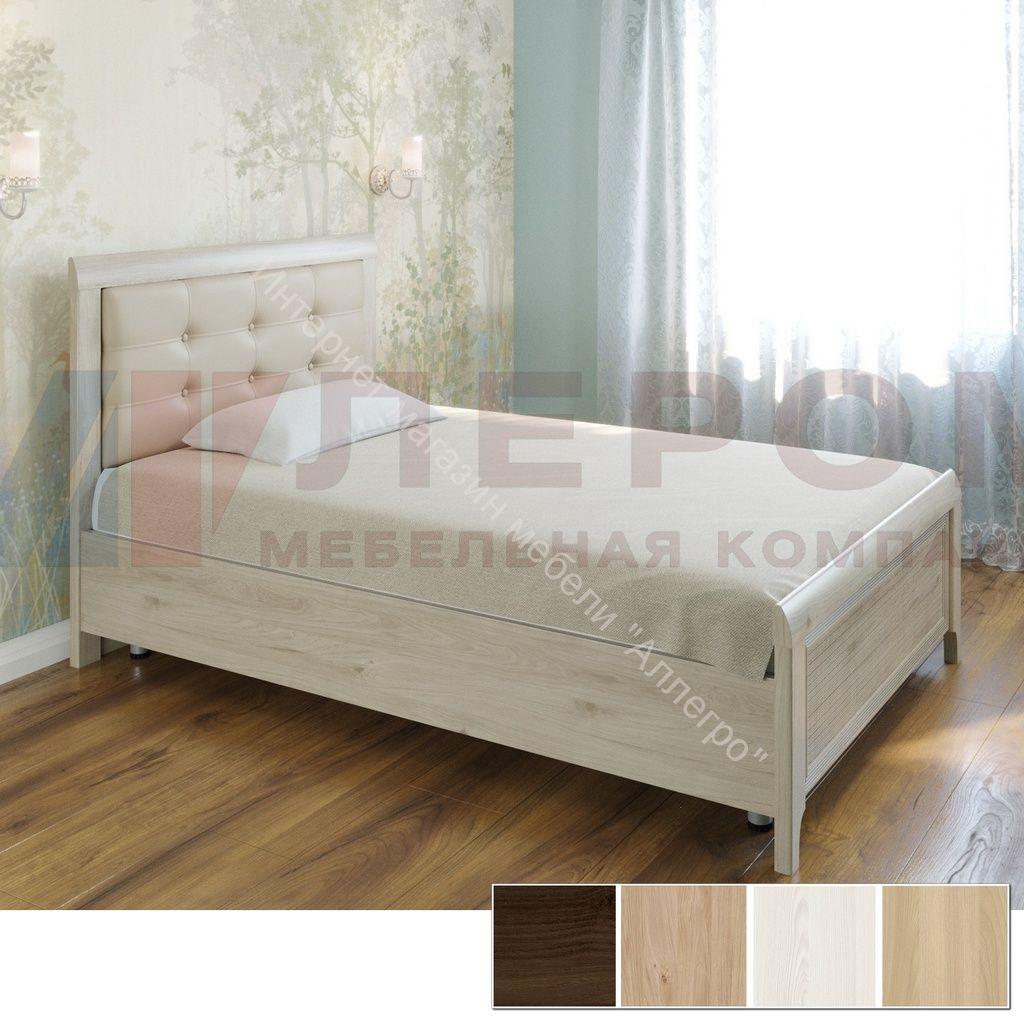 Кровать КР-2032 (1,4*2,0) Карина с мягким изголовьем