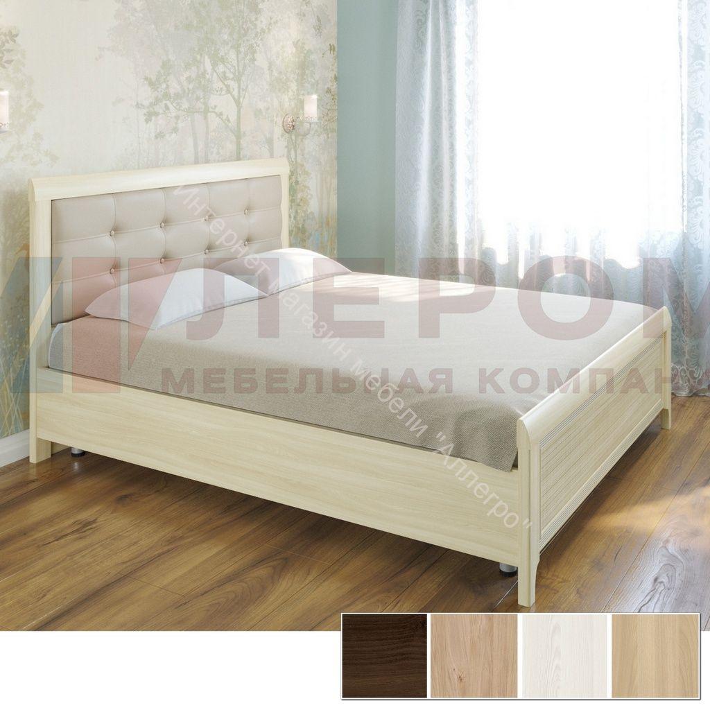 Кровать КР-2033 (1,6*2,0) Карина с мягким изголовьем