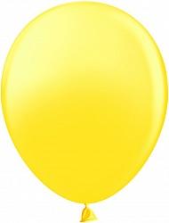 Шар (10''/25 см) Желтый, пастель, 100 шт.