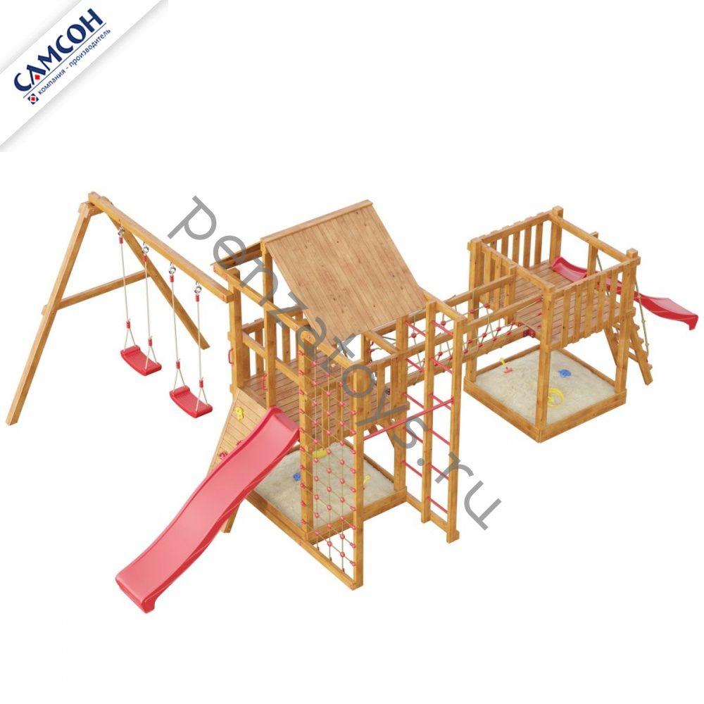 Игровой детский комплекс Сет Сибирика Cпорт-Мини