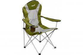 Кресло складное Helios серый ромб/зеленый