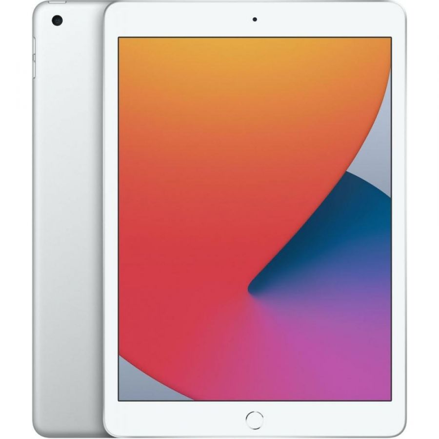 Планшет Apple iPad (2020) 128Gb Wi-Fi Silver (MYLE2)