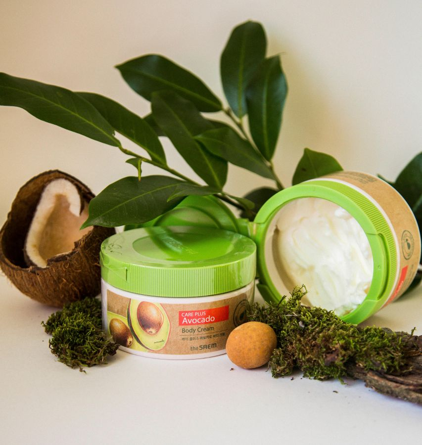 Крем для тела The Saem Питательный крем для тела с экстрактом авокадо The Saem Care Plus Avocado Body Cream