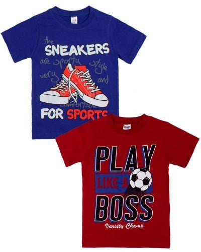 "Футболка для мальчика Bonito kids ""Sports games"" 4-8 лет"