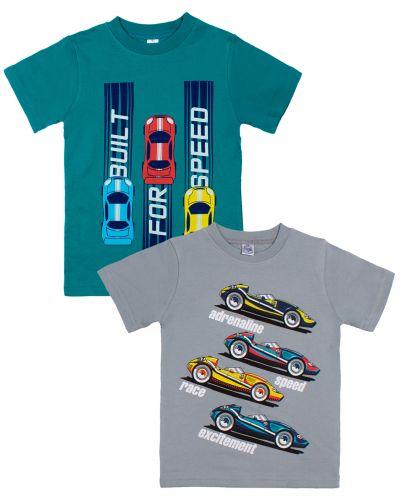 "Футболка для мальчика Bonito kids ""Speed race"" 4-8 лет"