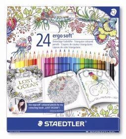Карандаши цв.24цв.STAEDTLER Noris Color Johanna Basford ST185C24JB