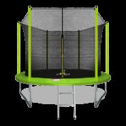Батут Arland 10FT с внутренней страховочной сеткой и лестницей