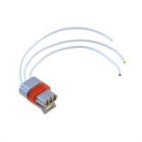 RK04115 * Разъем к датчику фазы для а/м 2108-21099, 2110-2112, 1117-1119 (с проводами сечением 0,5 кв.мм, длина 120 мм)