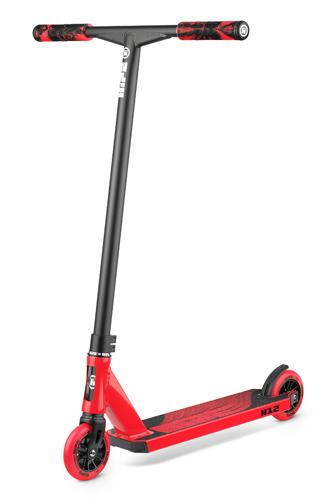 Самокат HIPE H12 black/red 2021
