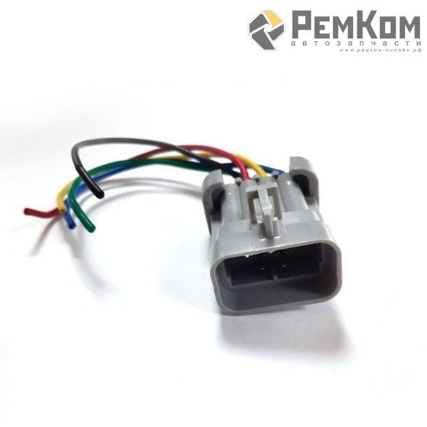 RK04160 * Разъем гнездовой к жгуту форсунок ВАЗ с проводами сечением 0,5 кв.мм, длина 120 мм
