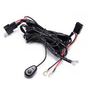Комплект проводки на одно подключение для балки без штекеров мощность до 80 Вт