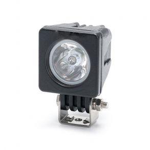 Светодиодная фара 10 ватт дальнего света длина 5 см