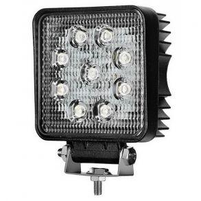 Светодиодная фара рабочего света 27 Вт 10-100V (60вольт, 48Вольт, 80 вольт)