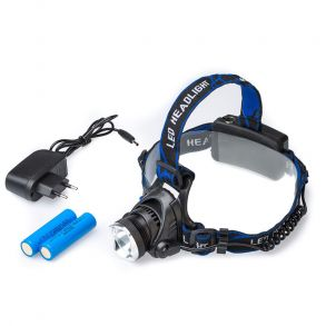Налобный фонарь PRO аккумуляторный