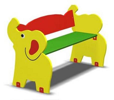 Детская скамейка Слоник Л-15