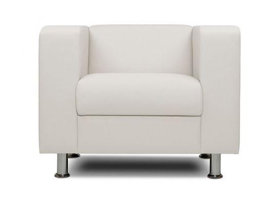 Кресло офисное Бит белый