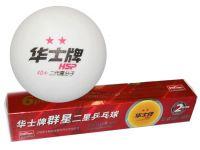 Шарики для настольного тенниса 2 звезды. HP. Размер. 40 мм, артикул 29274