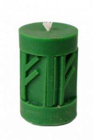 Силиконовая форма для свечи Рунический став Феху Феху Феху 6,5 см