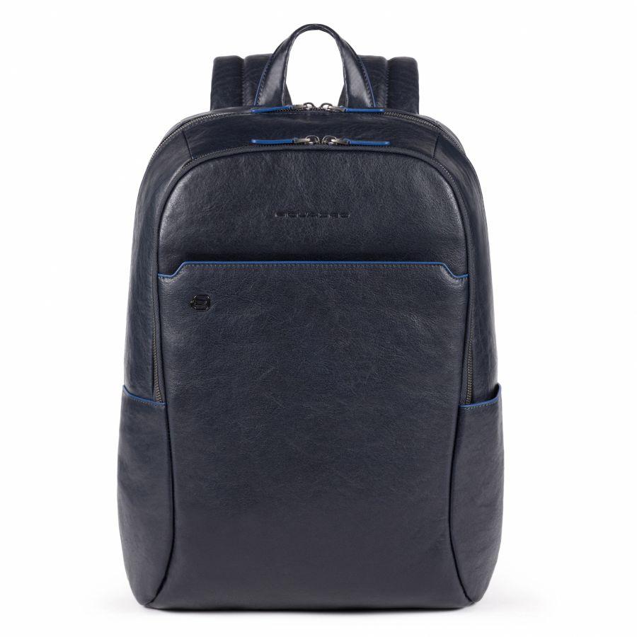 Рюкзак Piquadro CA4762B2S/BLU большой мужской кожаный синий