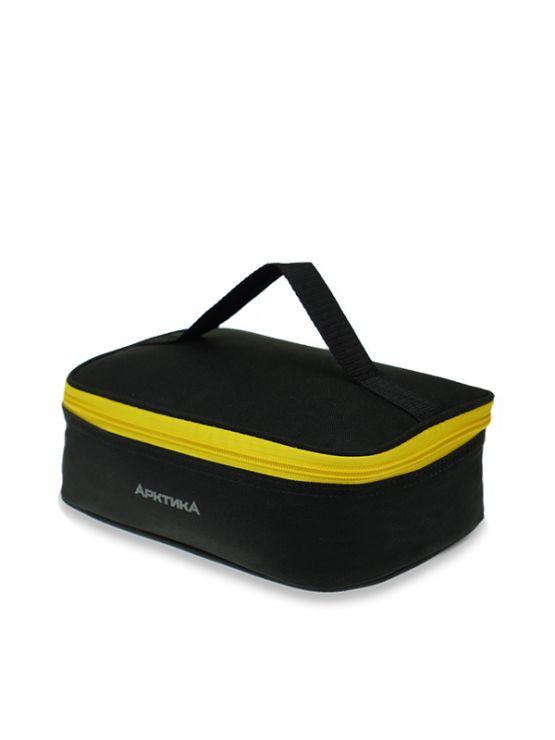 Ланч-сумка АРКТИКА 2,0 л 020-2000 черная с 2мя контейнерами изотермическая