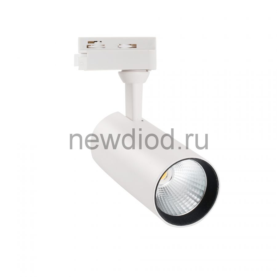 Светильник-прожектор трековый ULB-Q276 15W/4000К WHITE 1350Лм 4000К корпус белый ТМ Volpe