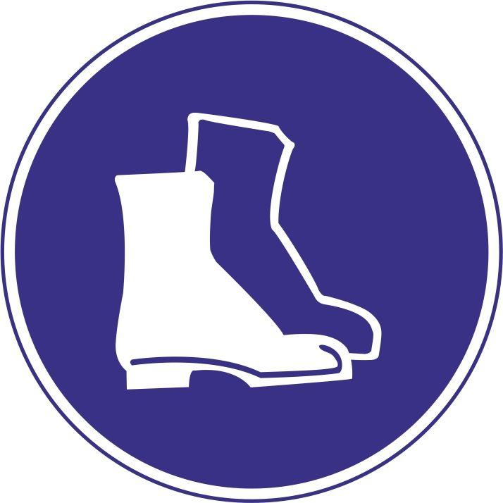 """M05 """"Работать в защитной обуви"""""""