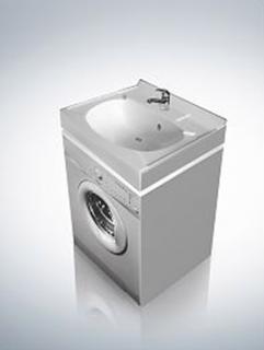 Раковина Altasan Kompakt UPP50 50  над стиральной машиной