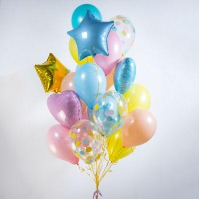 Фонтаны и сеты из воздушных шаров