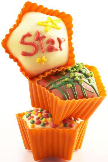 Силиконовые формы Star Silikomart 6 шт 2542372