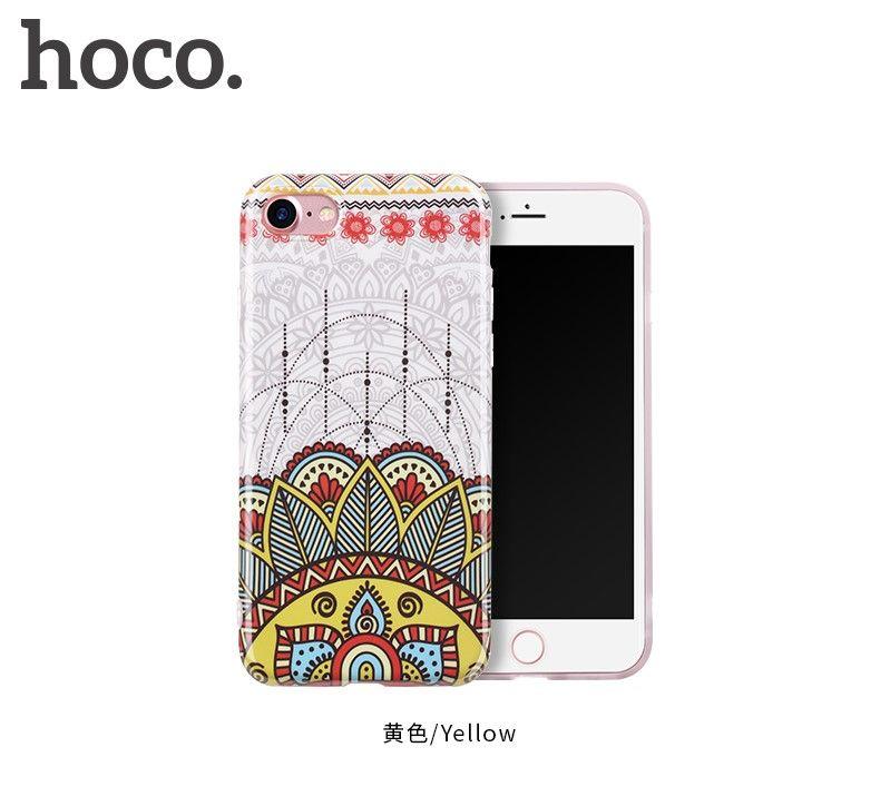 Защитный чехол HOCO Doren series для iPhone7/8, желтый