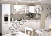 Кухня Прага белое дерево