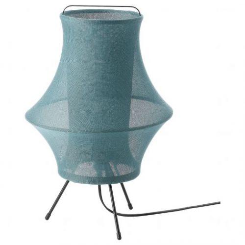 FYXNAS ФИКСНЭС, Лампа настольная, бирюзовый, 44 см - 504.640.16