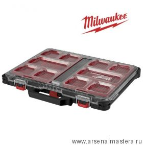 Органайзер тонкий пустой MILWAUKEE PACKOUT 4932471064