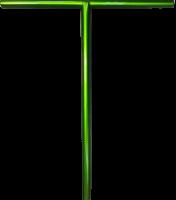 Руль Комета V2 Аврора (зеленый металлик)