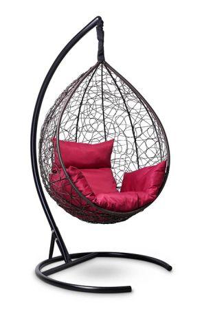 Подвесное кресло-кокон SEVILLA каркас коричневый