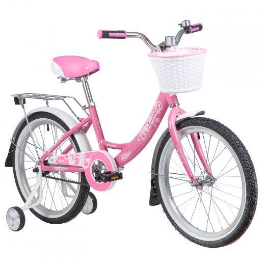 """Велосипед для девочки NOVATRACK Girlish Line  20"""" 1 (2021)"""