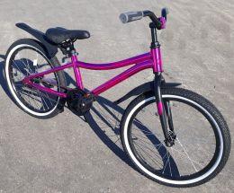 Велосипед Novatack Prime 20 Розовый Металлик
