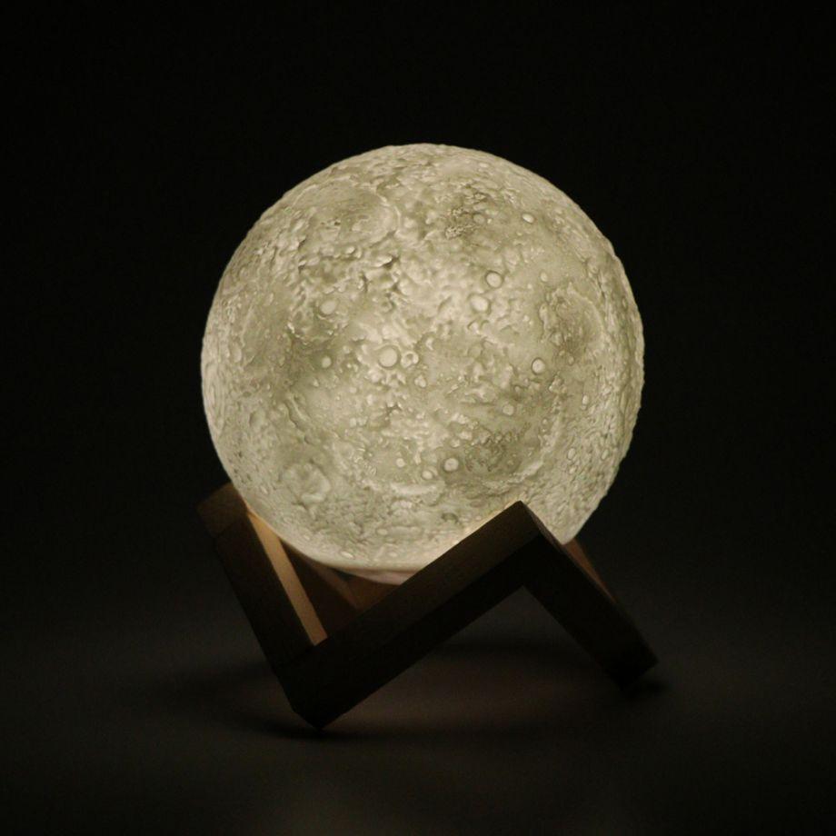 Шар-ночник Луна Moon Light 12 см беспроводной