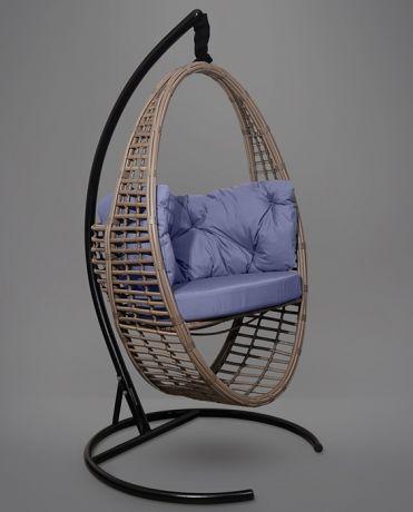 Подвесное кресло-кокон Derbent каркас горячий шоколад