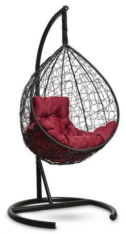 Подвесное кресло-кокон SEVILLA COMFORT каркас черный