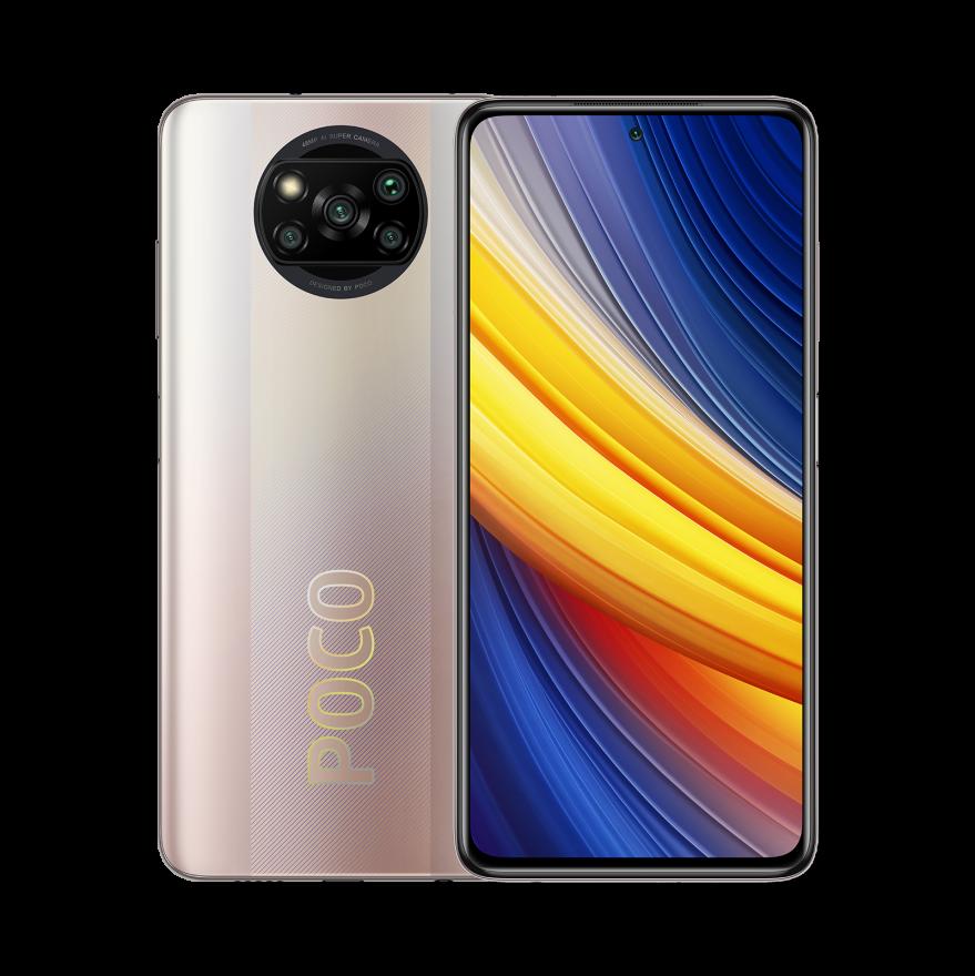 Смартфон Xiaomi Poco X3 Pro 8/256GB (NFC), Metal Bronze