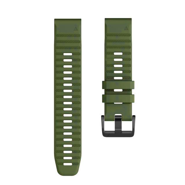 Ремешок сменный QuickStrap 20мм силиконовый хаки