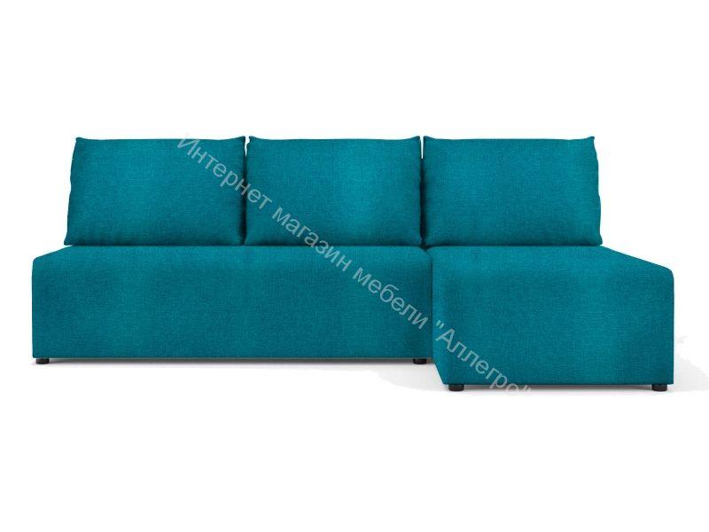 """Угловой диван """"Алиса"""" Savana Plus Lagoon кат.1"""