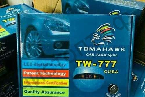 Парктроник TOMAHAWK TW-777 полный комплект для самост. установки 4 датчика