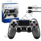 Джойстик для PS4 Dual Shock Wireless серый Беспроводной