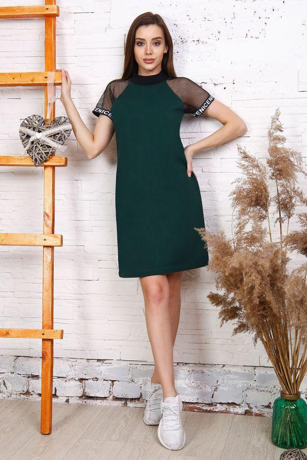 Платье 25170 [темно-зеленый]