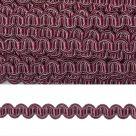 фото Тесьма вязаная отделочная Змейка 10 мм  3795.7 сиреневый