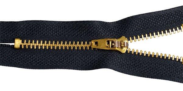 фото Молния для джинсов, металлическая №4, 14 см (DJNS4.14.М4002.F322)