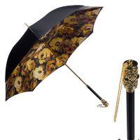 Зонт-трость Pasotti Nero Makro Botte